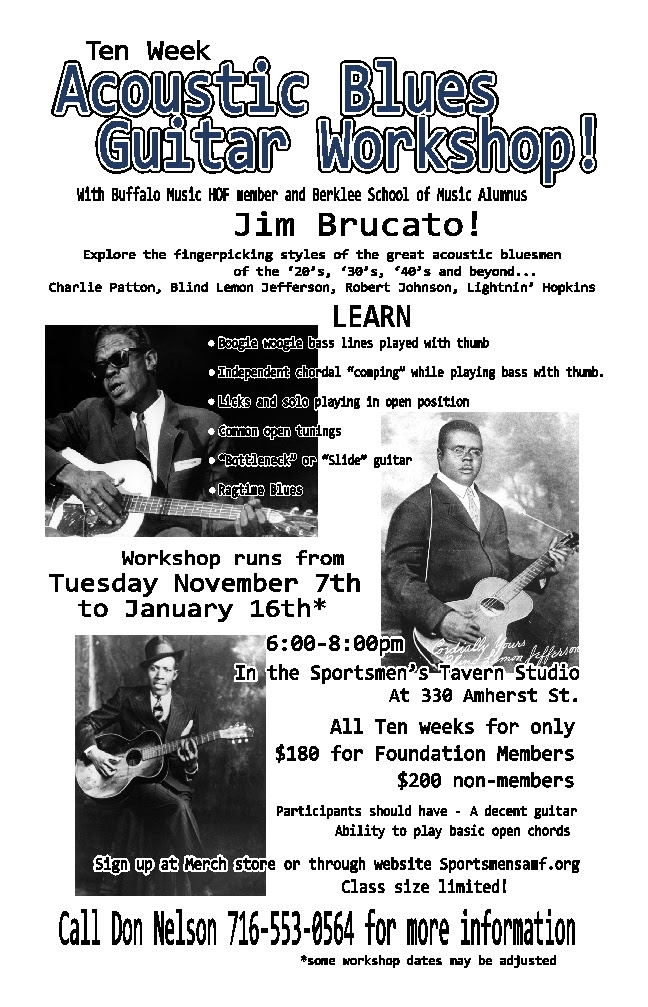 Acoustic Blues Guitar Workshop