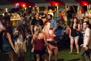 3rd Annual Americana Music Fest - Crowd & Volunteers